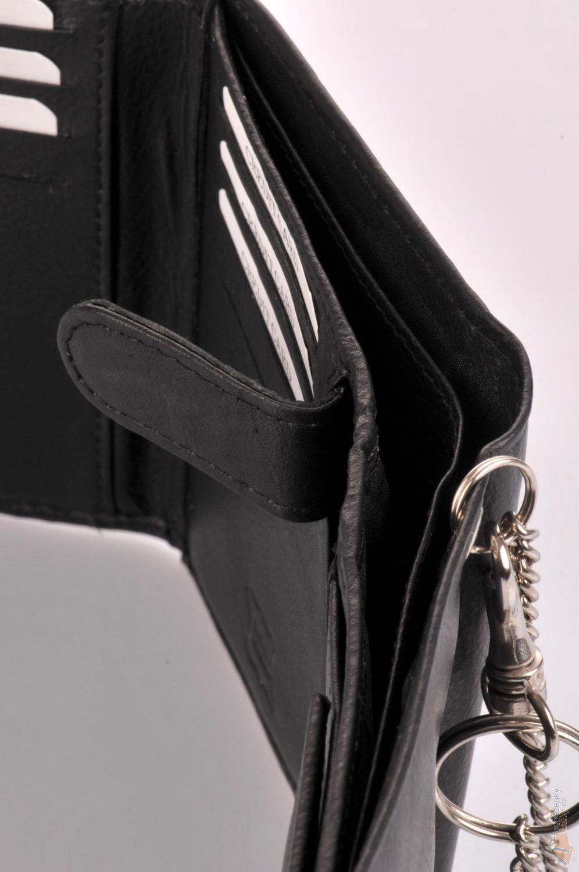 93e905c3a61 Neus Pánská kožená peněženka s řetízkem